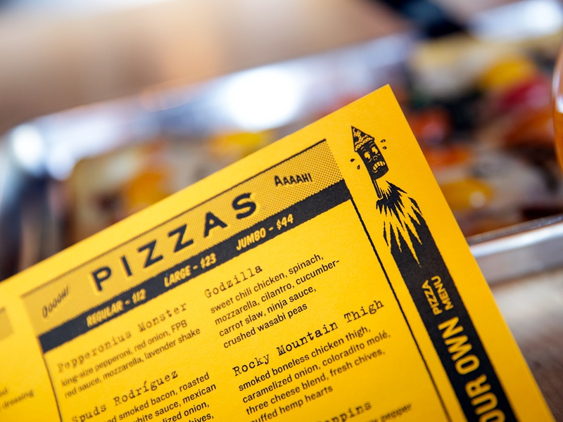 Firecracker Pizza & Beer Menus