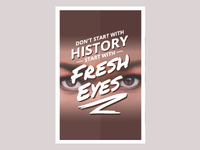 Design Poster - Fresh Eyes