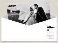 Nikon 70th Anniversary Envelope