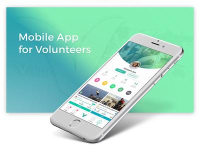 Volontime Social Network Mobile App