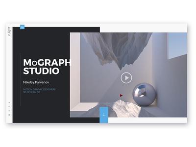 MoGraph Studio Web Design