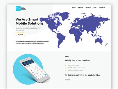 Smart Mobile Solutions Homepage