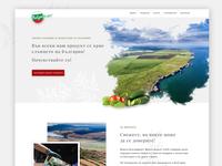 Bulgarfrukt website design