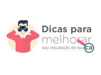 Flat Search Logo