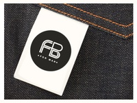 Logo for Menswear Brand (Tag Mockup)