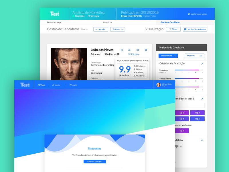 HR Startup System kit framework design ui system startup