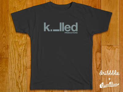 Killed Productions logo logotype identity branding sean heisler killed productions