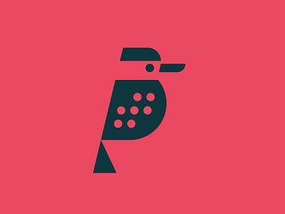Team Kookaburra beak animal bird kookaburra geometric simple minimal modern zendesk identity logo
