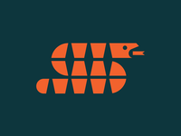 Zendesk Copperhead Team geometric copperhead zendesk minimal snake simple identity logo