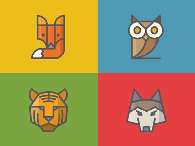 Zendesk Animal Icons