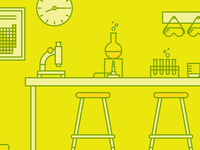 Zendesk Scientific Lab Illustration