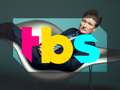 New TBS Logo sean heisler turner tbs quirky fresh modern branding identity logo
