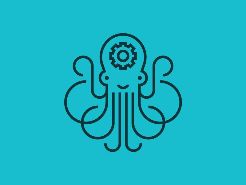Octopus by Sean Heisler - Dribbble  Octopus Symbol