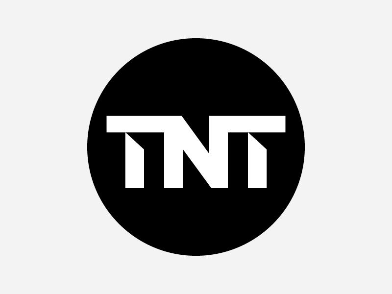 Turner Broadcasting TNT Logo Concepts tv tnt cable turner heisler simple minimal modern identity branding logo