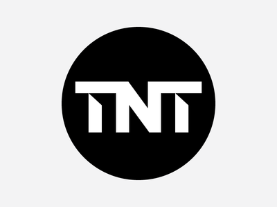 Turner Broadcasting TNT Logo Concepts tv tnt cable turner heisler simple minimal modern identity branding logo