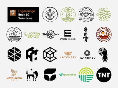 LogoLounge 10 logolounge heisler lounge modern simple minimal branding identity logo