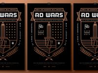 AAF Omaha Ad Wars 2017 Poster
