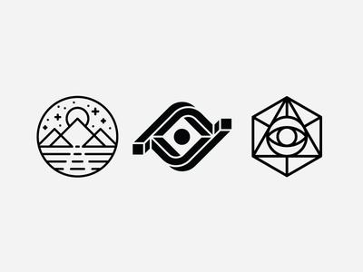 Sage/Visionary/Insight Symbol Explorations
