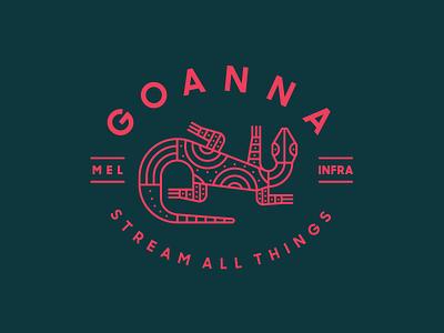 Zendesk Team Goanna badge zendesk australia goanna simple monoline modern heisler identity logo