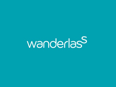 Wanderlass - A quest for a life not ordinary. logo logotype identity simple minimal modern path winding travel