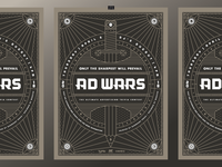Ad Wars 2018 Poster