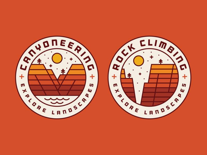 Red Desert Adventure - Explore Landscapes - Apparel V1 climbing rock canyoneering heisler red adventure shirt apparel desert
