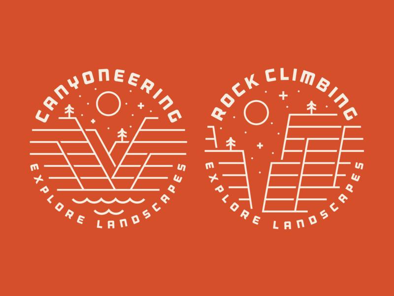 Red Desert Adventure - Explore Landscapes - Apparel V2 climbing rock canyoneering heisler red adventure shirt apparel desert
