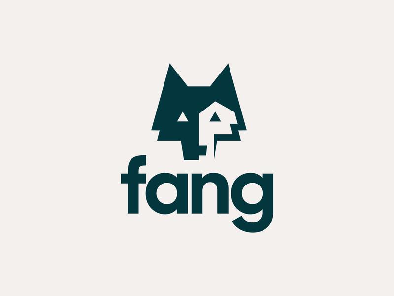 Zendesk Team Fang fang wolf vector branding zendesk modern simple heisler minimal identity logo