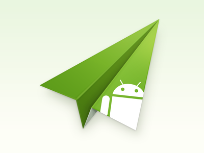 AirDroid Icon for Smartisan OS green onlyoly icon ui plane airdroid