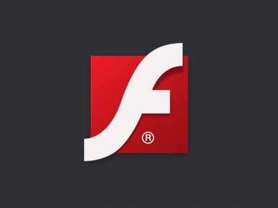 Flashplayer Icon for Smartisan OS ui onlyoly flashplayer smartisan os icon redesign onlyoly red