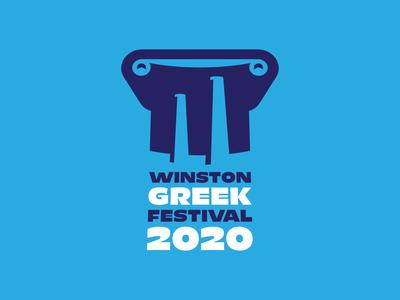 Greek Festival Logo Comp 1