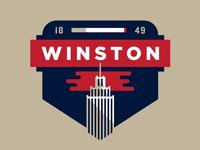 Winston Badge