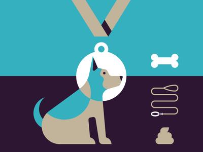 Dog Training Illustration