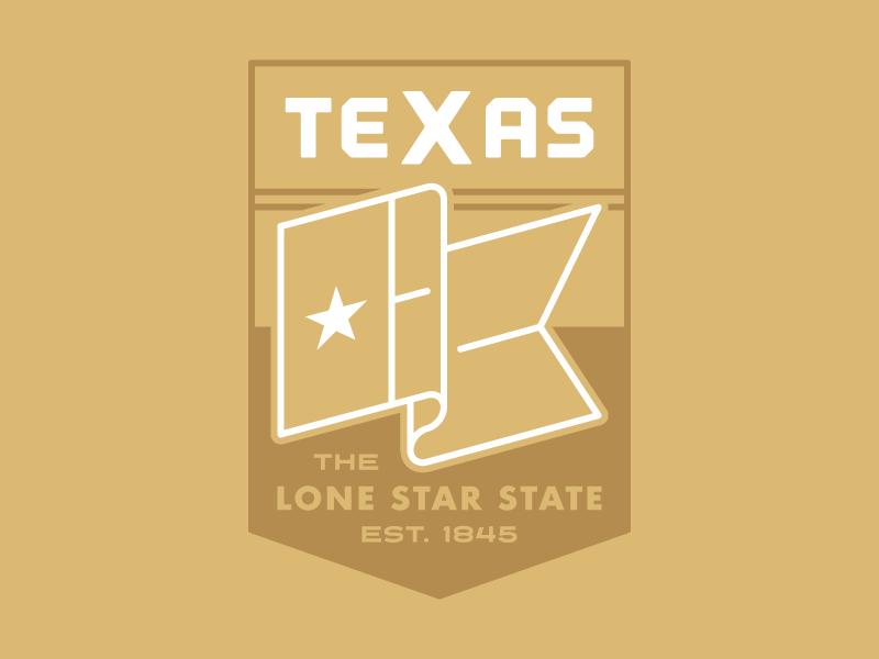 Texas Badge austin west south tejas usa america badge star flag state lone star texas