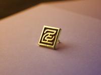 Two Cents Enamel Pin