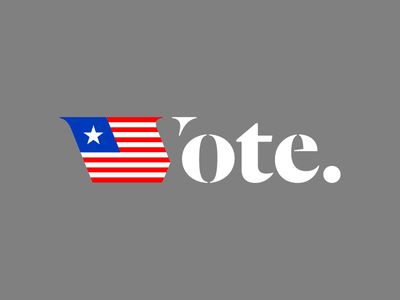 Vote. trump clinton flag house senate congress president united states america election voter vote