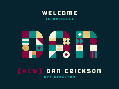 Welcome Dan Erickson!
