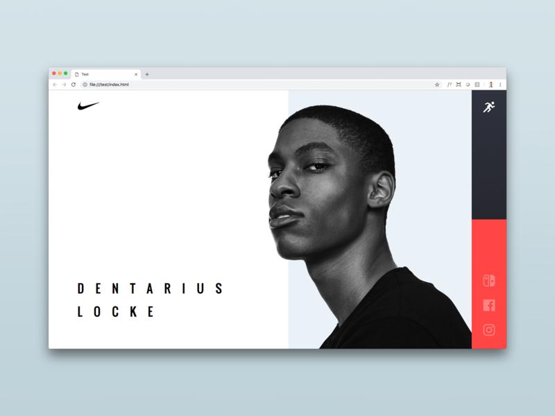Nike Future HTML/CSS Build social minimal ui branding athlete race marathon store runner site nike code css html web