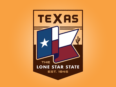 Texas Badge Redux dont mess with texas vector logo wild west west flag star cattle cactus desert state lone star lone star state texas badge