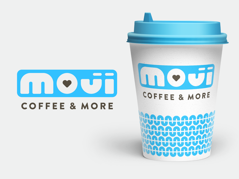 Moji Coffee Concept 3 joy heart happy winston-salem community non-profit branding brand logo coffee moji