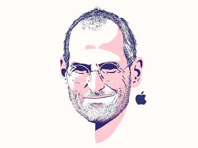 Steve Jobs sketch procreate mac head leader tech technology ceo apple portrait drawing illustration draper dan steve jobs jobs steve