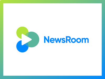 Newsroom Identity Concept 3 video the variable studio social room production newsroom news logo identity content brand agency advertising