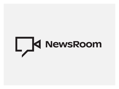 Newsroom Identity Concept 4 video the variable studio social room production newsroom news logo identity content brand agency advertising
