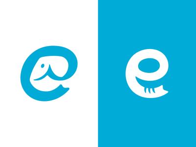 Elephant Auto Logo Concepts