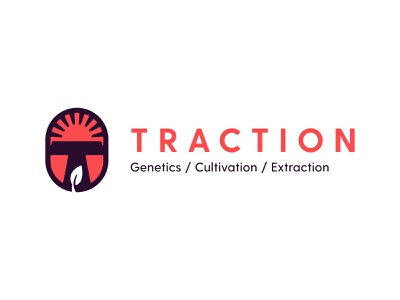 Traction, Concept 2 freelance business plant farm grow dose medical medicine drug smoke pot marijuana cbd hemp cannabis design wordmark identity brand logo