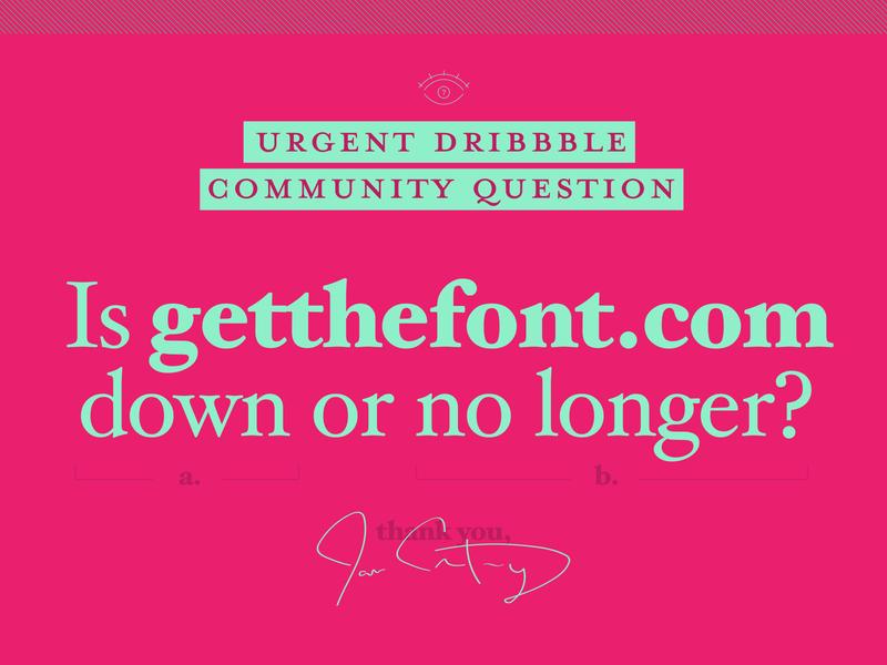 Dribbble Community Help? question