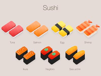 Sushi illust