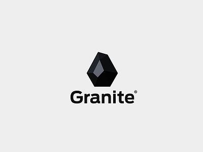 Granite technology black granite logo