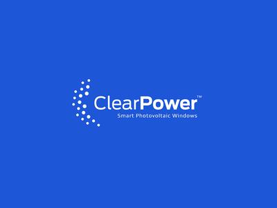 ClearPower technology tech blue power clear logo