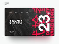 TWENTY THREE -01 WEB DESIGN SHOT